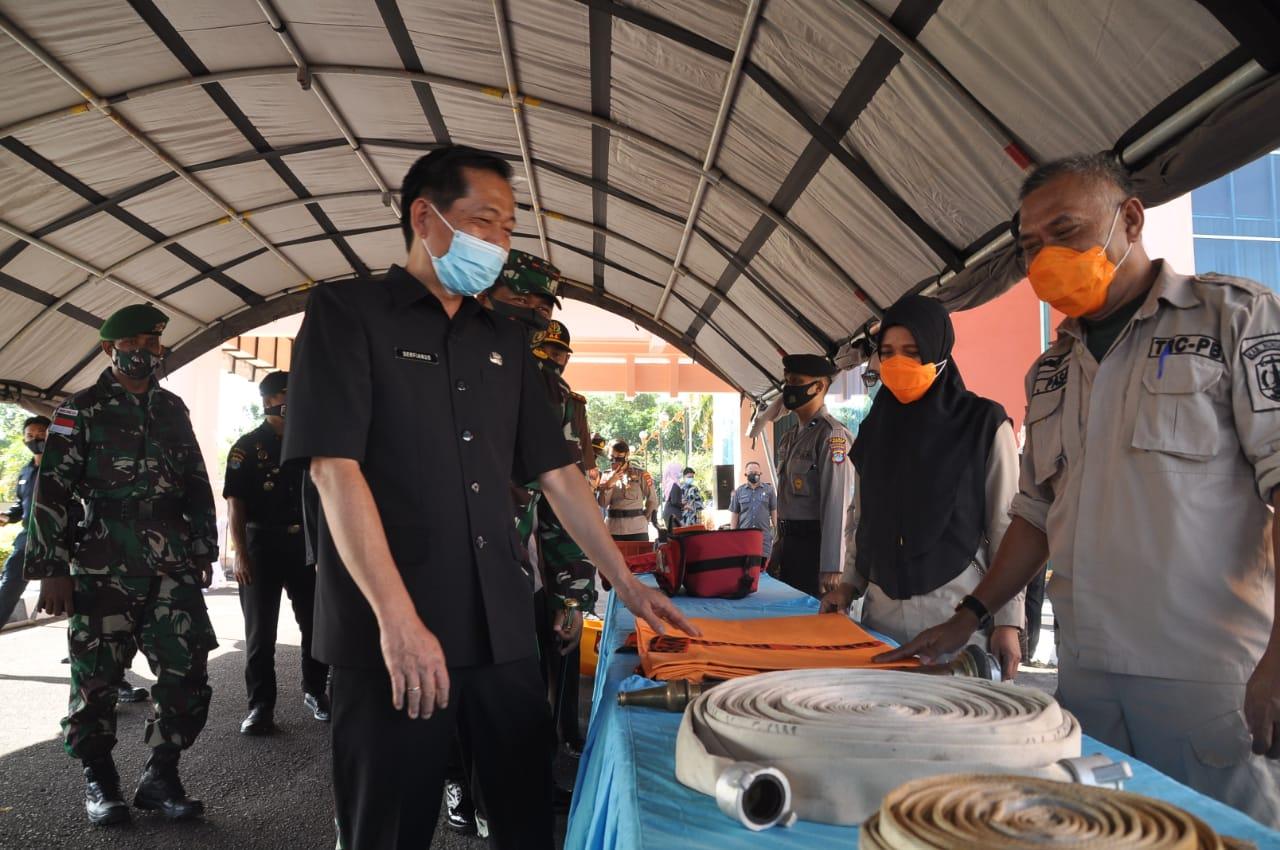 Waspada La Nina, Pemkab Nunukan Gelar Apel Kesiapsiagaan Bencana.