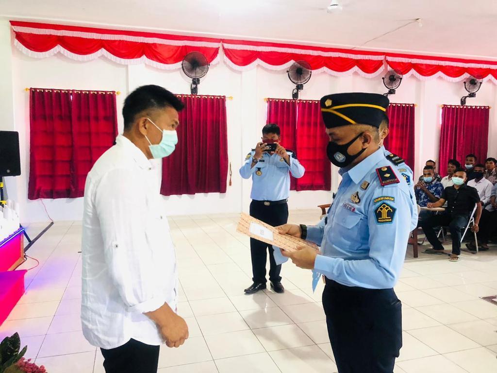 68 Warga Binaan Lapas Kelas IIB Nunukan Terima Remisi di Hari Natal