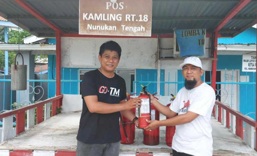 Foto Bantuan Pengisian APAR di Nunukan Tengah