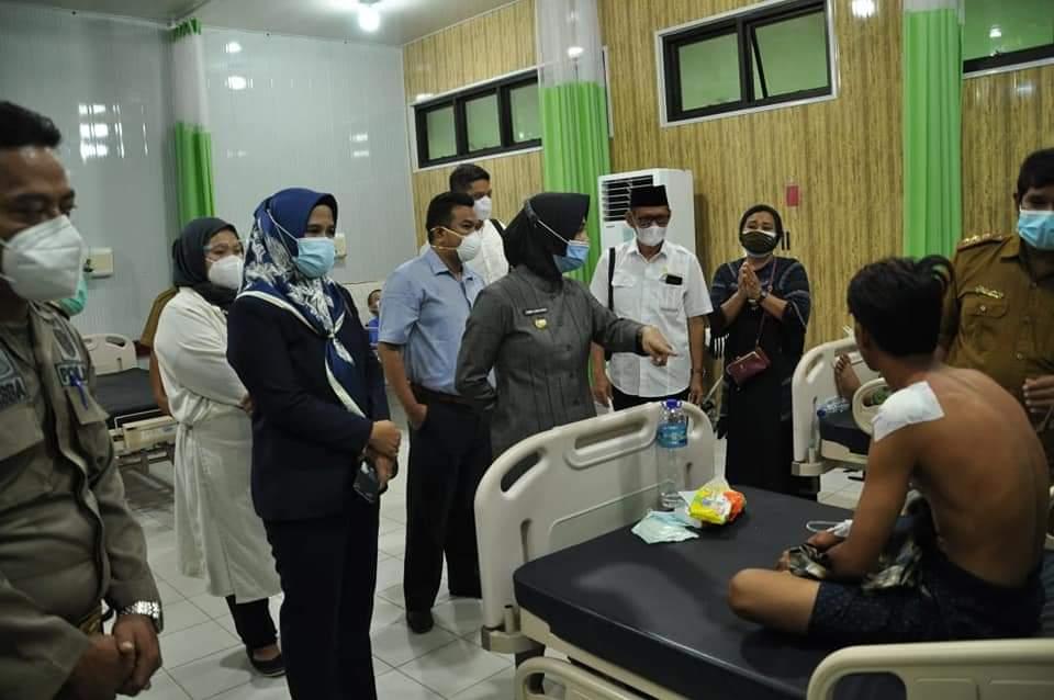 Laura Kunjungi Pasien Di RSUD Nunukan