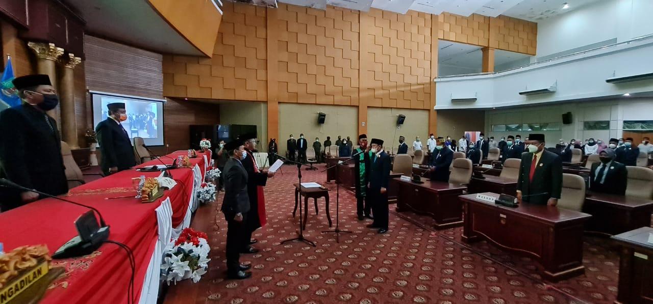 Pelantikan Unsur Pimpinan DPRD Nunukan