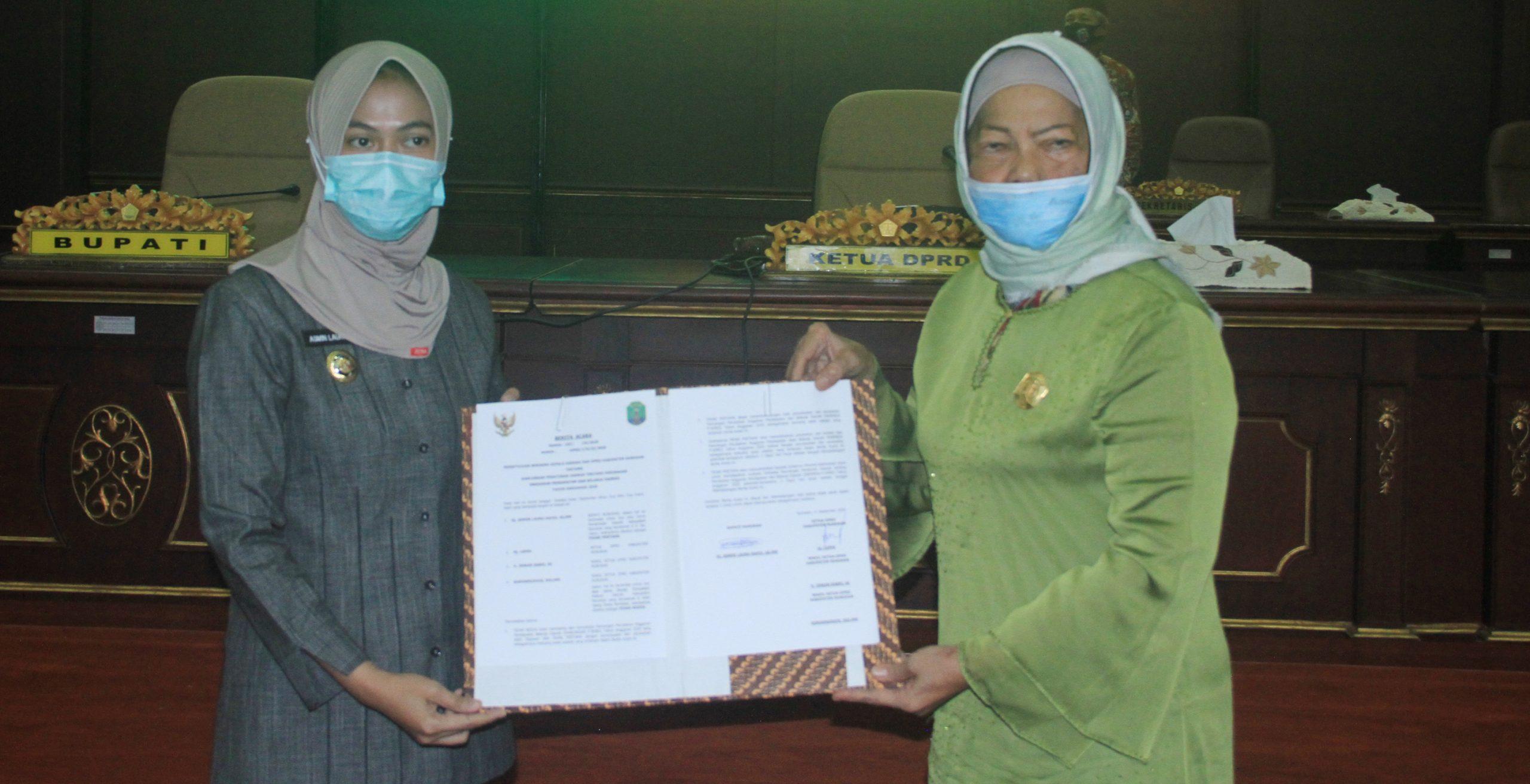 Bupati dan Ketua DPRD Kabupaten Nunukan