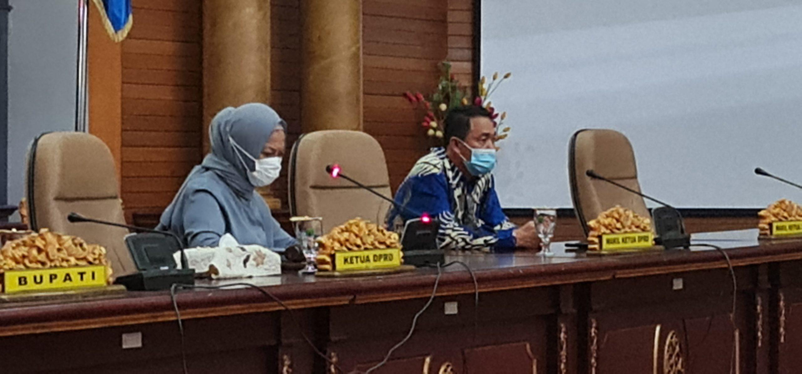 Ketua dan Wakil Ketua DPRD Nunukan