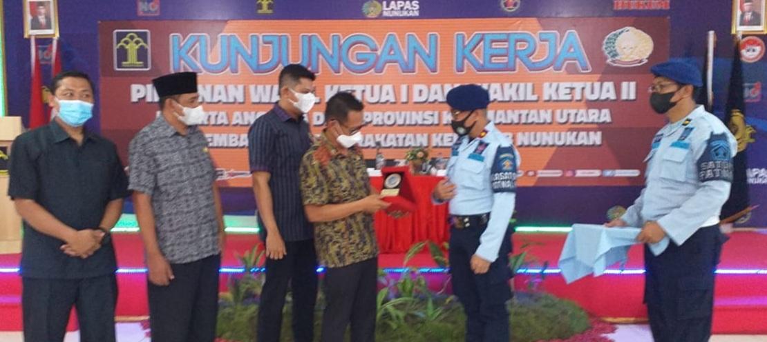 Kunker DPRD Provinsi Kaltara di Lapas Nunukan