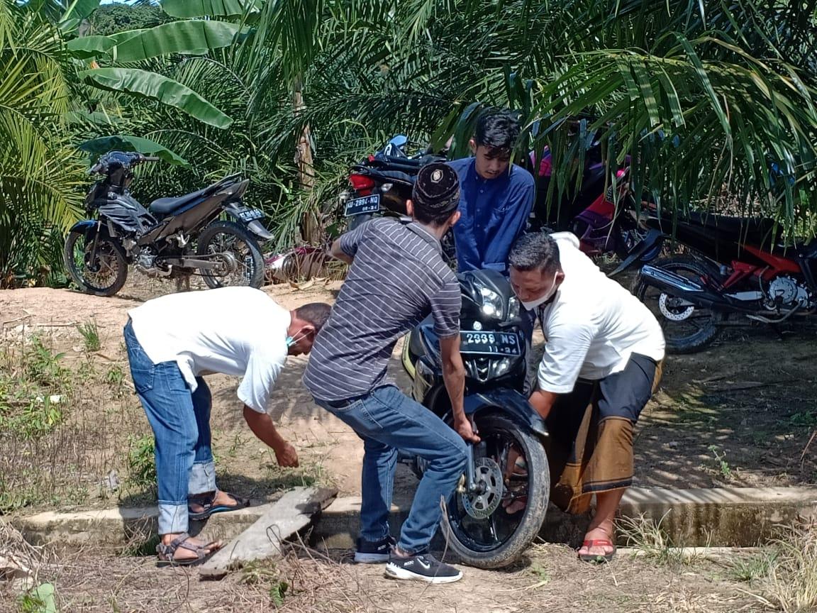 Polres Nunukan menyita motor Pelaku Judi Sabung Ayam