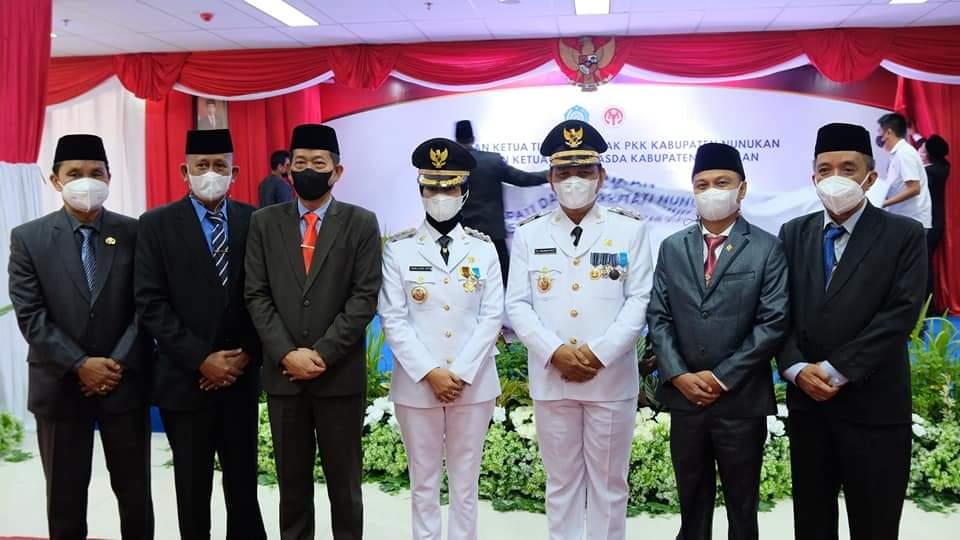 Bupati dan Wakil Bupati Nunukan Periode 2021 - 2024.