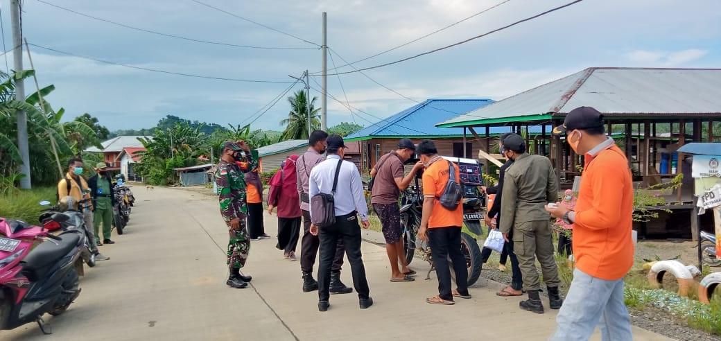 PPKM Micro Di Desa Bukit Harapan Sebatik