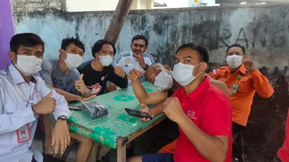 Tim Relawan PMI Nunukan