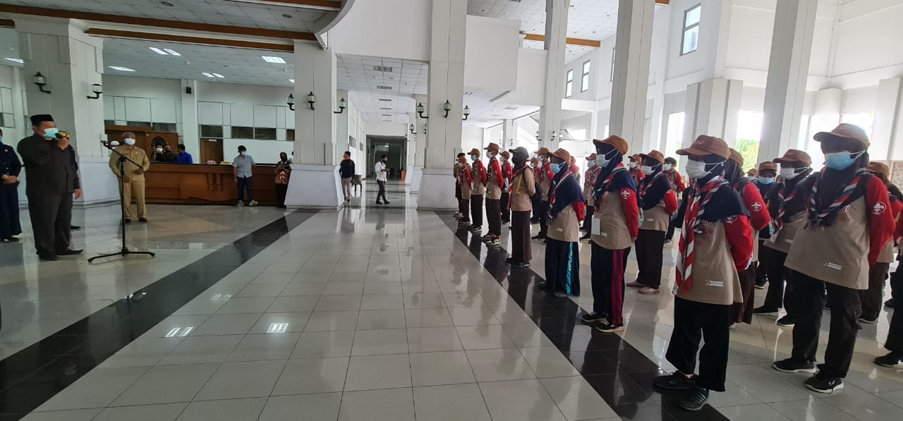 Kunjungan Siswa Pramuka