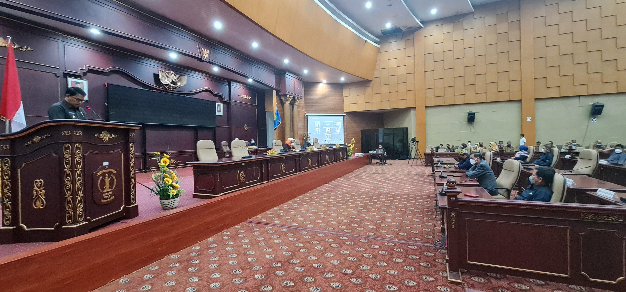 Wakil Bupati Nunukan Sampaikan KUA PPAS 2022