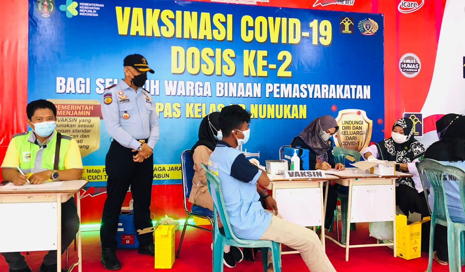 Vaksinasi Dosis II