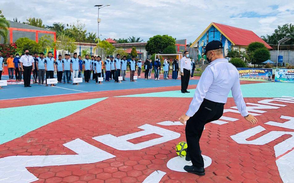 Pembukaan pembukaan Kegiatan Pekan Olahraga Hari Dharma Karyadhika Tahun 2021