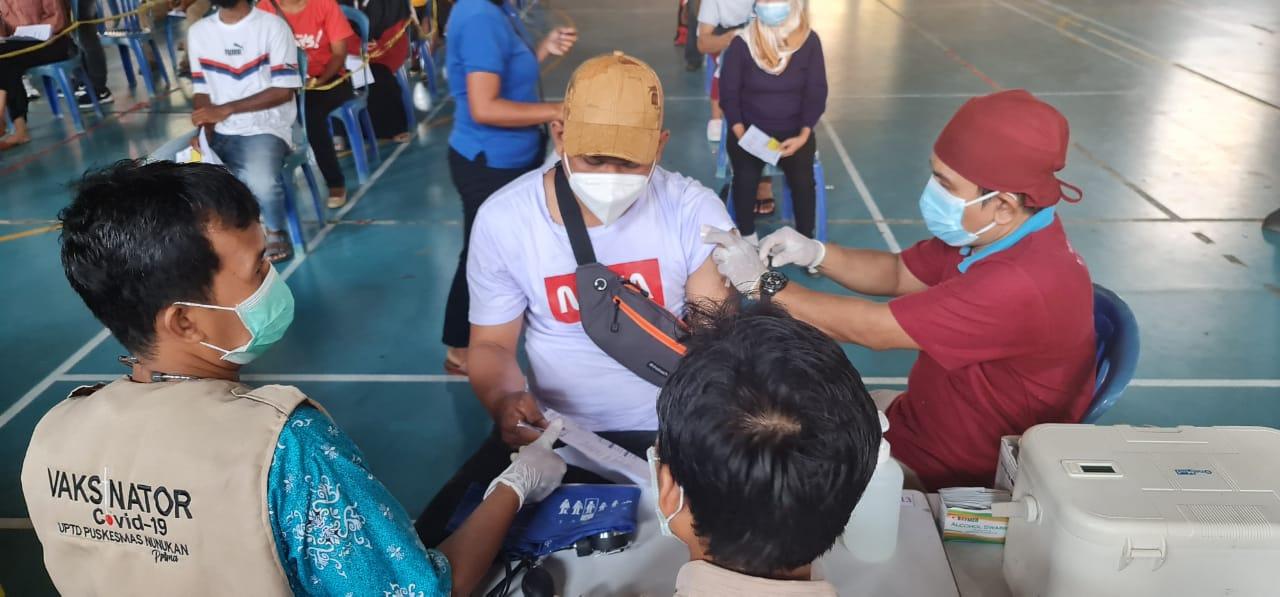 Vaksinator Dinas Kesehatan Nunukan